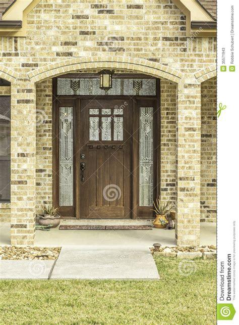Decorative Front Door View Stock Photos  Image 35571943