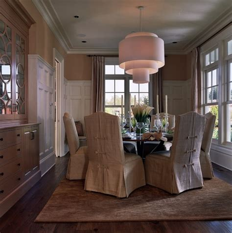skirted slip covers for dining room chairs