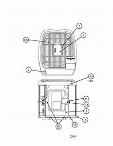 Carrier Model 38tdb024300 Air Heat Pump