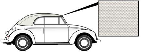 cabrio dach pflege cabrio verdeck vinyl wei 223 1303 8 72 187 vw k 228 fer