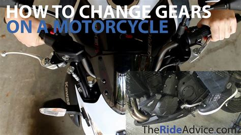 How To Change Gears On A Motorcycle