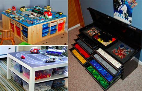 meuble cuisine tout en un 20 idées hyper pratiques pour ranger les lego des idées