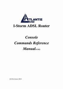 I-storm A02-ra Atmos  Me01 Manuals