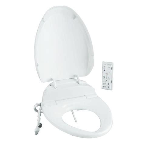 bidet home depot smartbidet electric bidet seat for elongated toilets in