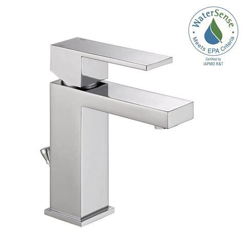 designer bathroom faucets delta modern single single handle bathroom faucet in
