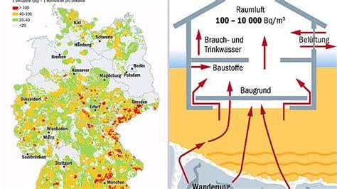 radioaktives gas radon die vernachlaessigte gefahr aus
