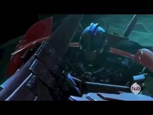 Transformers Prime - Optimus & Arcee - Solemn hour - YouTube