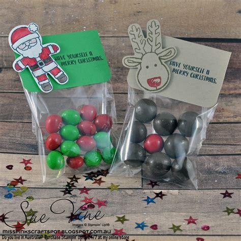 miss pinks craft spot cookie cutter christmas treat bags