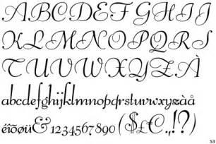 Pretty Cursive Alphabet