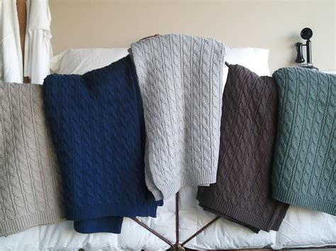 kid bedding sets cable knit throws