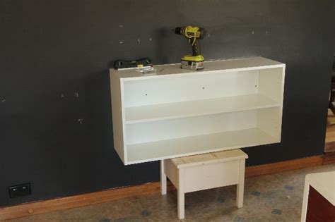 DIY Floating Buffet Using IKEA METOD Cabinet   Shelterness