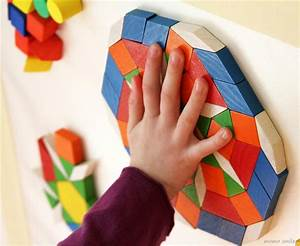 Sensory Play Activity for Children: Wall Mosaic Art