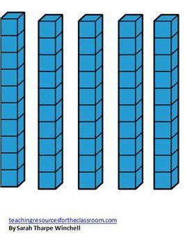 giant base ten blocks math centers numbers  base ten