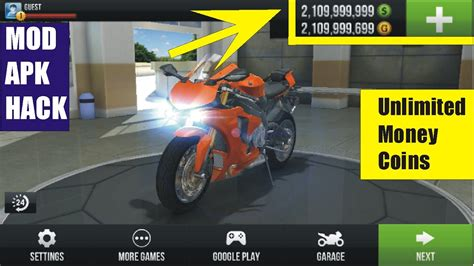 traffic rider mod hack apk unlimited and coins