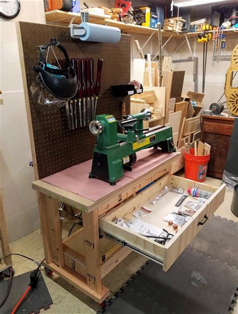 portable rolling lathe bench buildsomethingcom
