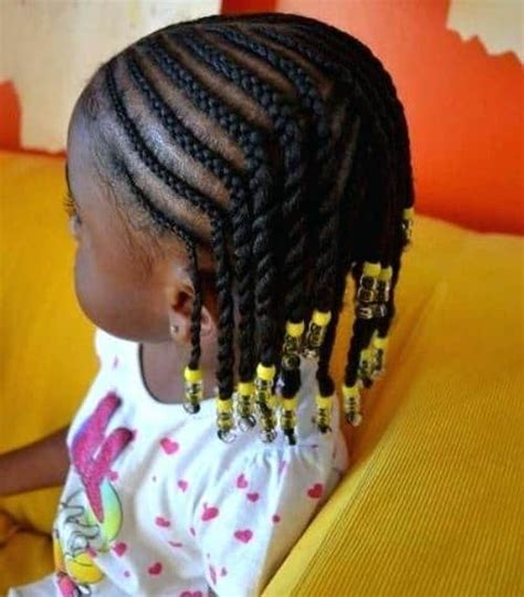 21 attractive little girl hairstyles with beads