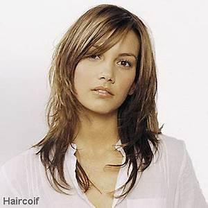 Coupe Degrade Femme : coupe de cheveux femme mi long d grad avec frange ~ Farleysfitness.com Idées de Décoration