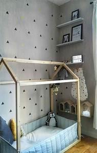 Construire Un Lit Cabane : deco lit cabane ~ Melissatoandfro.com Idées de Décoration