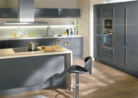 cuisine moderne grise photo cuisine moderne grise cuisine idées de