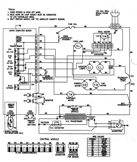 Ge Microwave Oven Wiring Diagram by Goldstar Microwave Oven Wiring Diagram Parts Images Frompo
