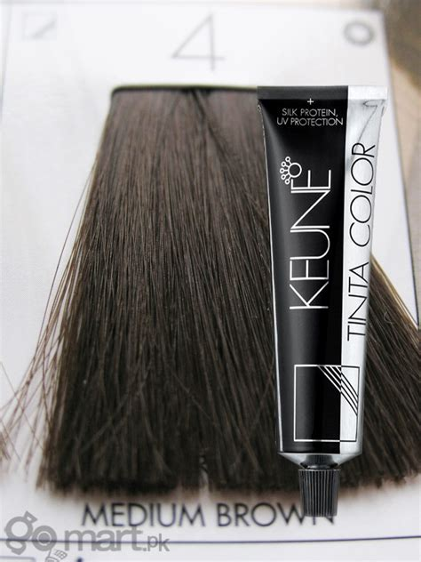 keune tinta color medium brown  hair color dye gomartpk