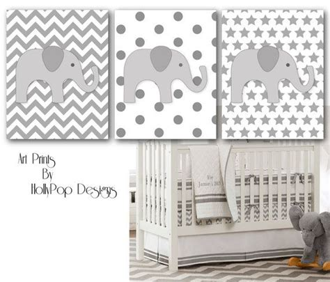 nursery wall decor childrens room decor gray chevron nursery pottery barn set of 3
