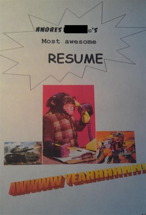 funny resumes cover letters  huffpost