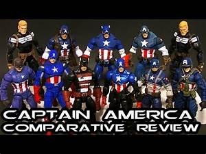 Marvel Legends CAPTAIN AMERICA Comparative Figure Review ...