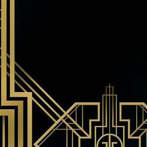Great Gatsby Background Digital Banner Sign & PSD 4ftx8ft ...