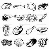 Meat Coloring Pages Protein Beef Drawing Icons Groups Cartoon French Printable Icon Ham Healthy Worksheet Drawings Clip Eggs Match Illustration sketch template