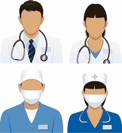 Nurse Doctor Clipart Patient Nursing Transparent Physician