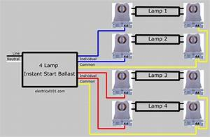Ge Ballast Wiring Diagram