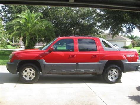 Chevy Avalanche 2002 by Purchase Used 2002 Chevy Avalanche Z71 1500 4 Wheel