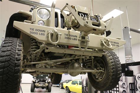military jeep yj the jeep wrangler commando is ready for war and peace