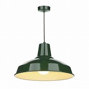 Industrial retro style metal ceiling pendant light in
