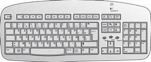 Jims Keyboard Clip Art At Clker Com