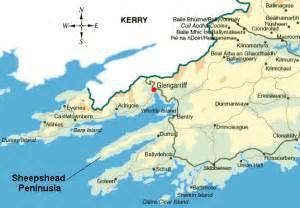 West Cork Ireland Map