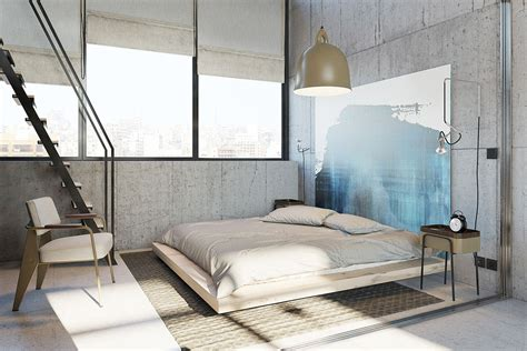 Concrete Feature Wall Panels Artful Design Ideas For Bedroom by Concrete Wall Designs 30 Striking Bedrooms That Use