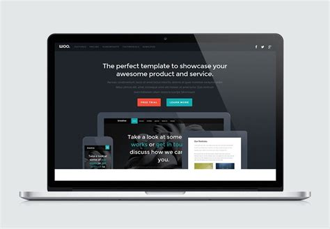 woo high quality  website template  styleshout