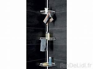 Etagere Angle Salle De Bain Telescopique : etag re de douche salle de bain am nagement et d cor fan de lidl fr ~ Melissatoandfro.com Idées de Décoration