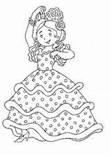 Coloring Pages Flamenco Spanish Spain Around Dance Music Dancers Colouring April Children Little Popular Visit Sheet France Enregistree Depuis sketch template
