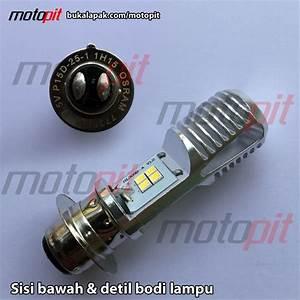 Jual Osram Led T19 M5 K1 Lampu Utama Motor H6 Putih Ac