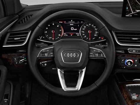 Image 2017 Audi Q7 30 Tfsi Premium Steering Wheel, Size
