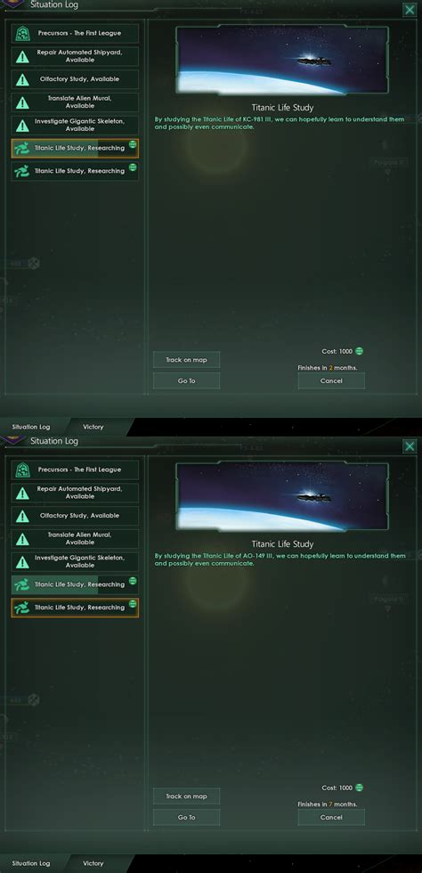 Two titanic life events at the same time : Stellaris