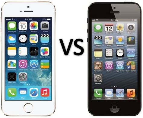 iphone 5 compared to iphone 5s compare apple iphone 5s vs iphone 5 smartphone