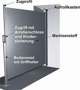 Seitenmarkise Ausziehbar 4 M : seitenmarkise slideroll 400 nach ma seitenmarkisen bis ~ Whattoseeinmadrid.com Haus und Dekorationen