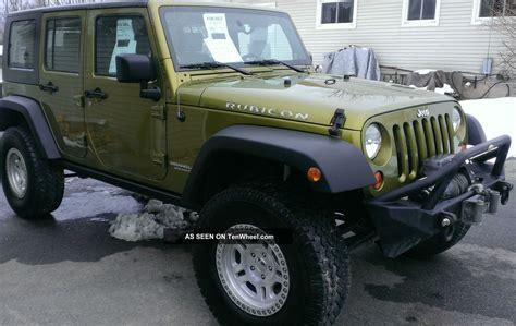 2008 Jeep Wrangler Rubicon Unlimited