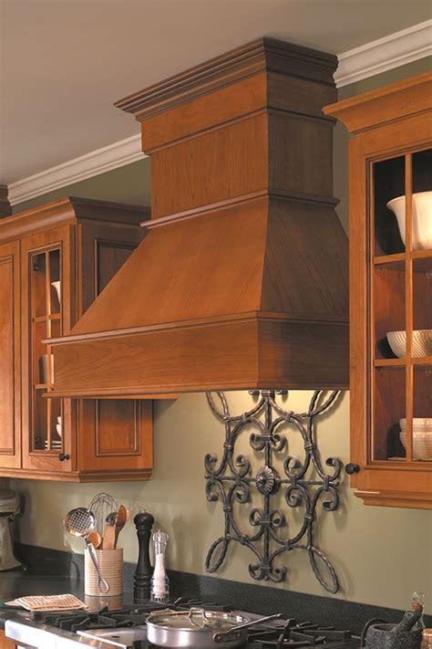 designer wood range hood square homecrest