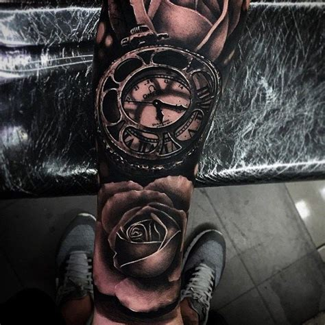 clock tattoo designs  incredible collections slodive
