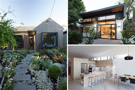 small house received  contemporary update